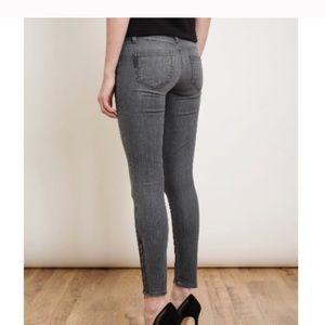 Paige Verdugo Ankle Zip Skinny Jeans